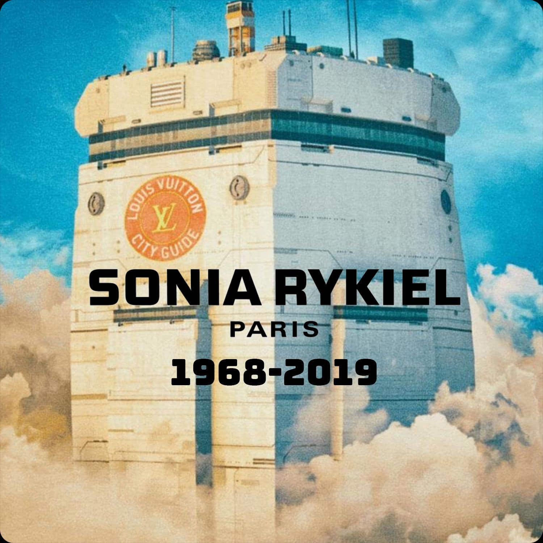 Louis Vuitton - Sonia Rykiel grave stone - t-shirt Primavera Estate 2019
