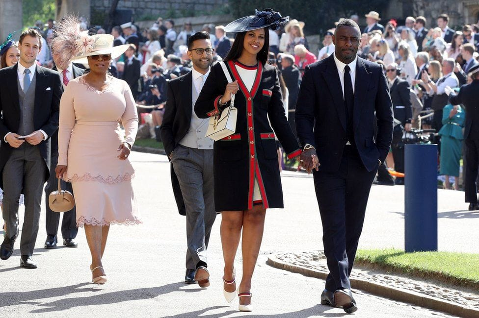 Oprah, guest of Honor at Royal Wedding 2018 by Runway Magazine