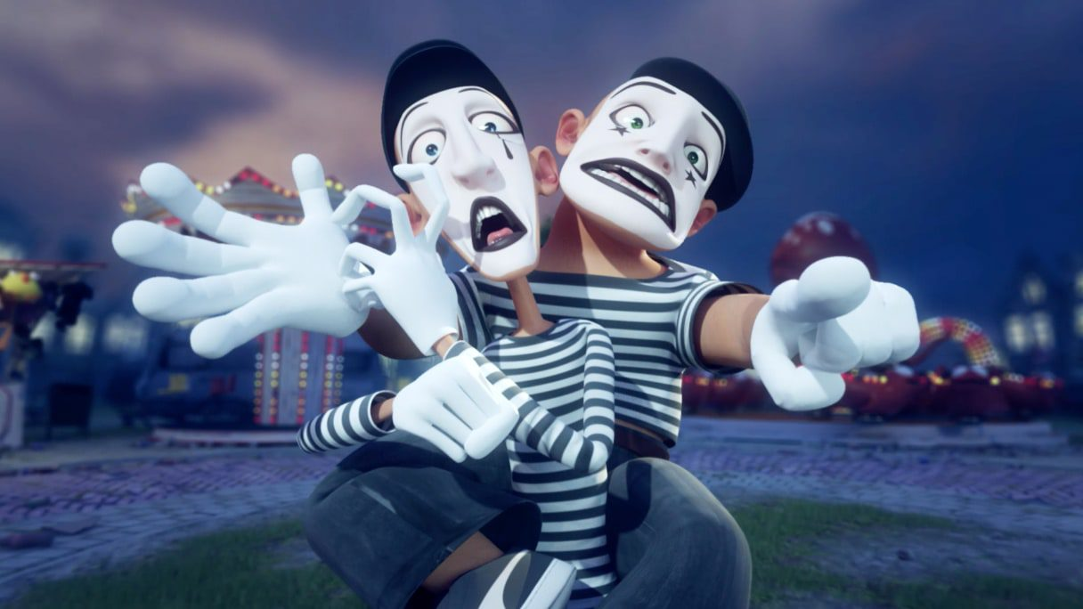 Animation Forever Mime by Runway Magazine