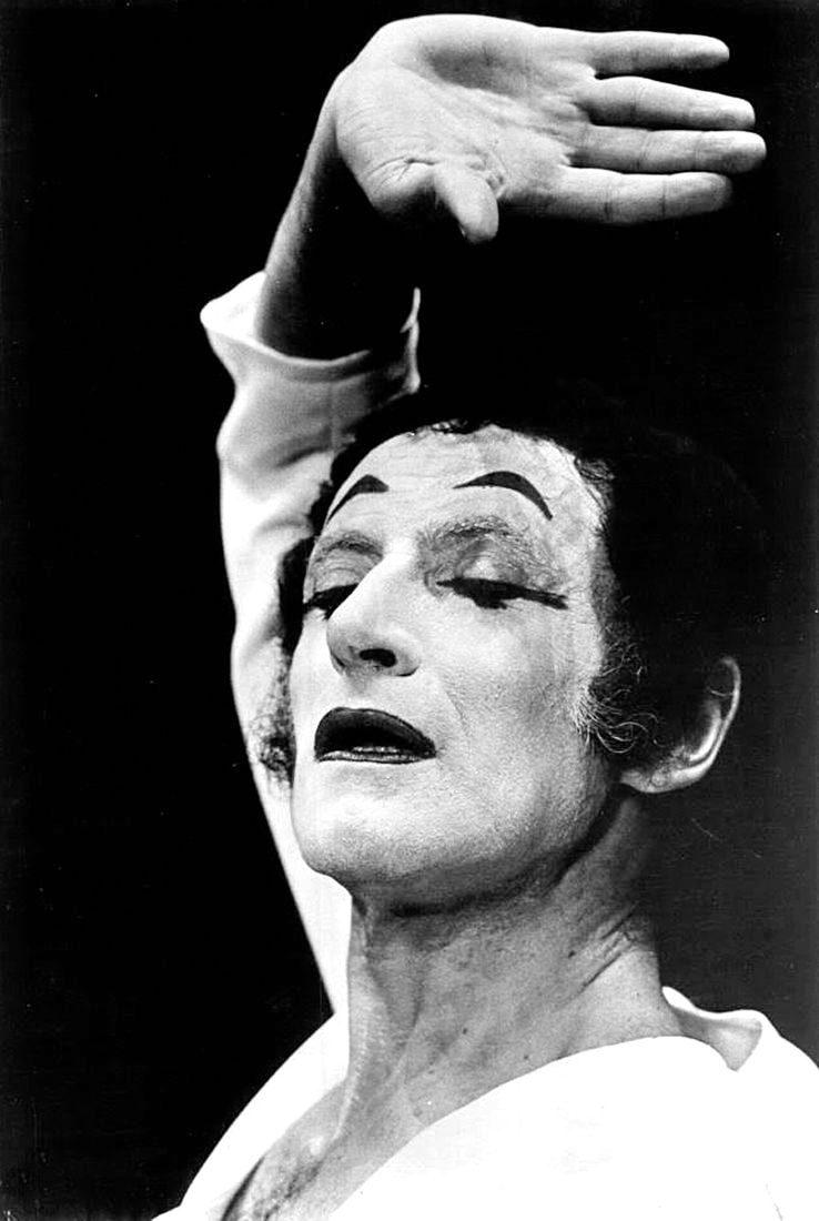 Marcel Marceau - il più grande Mimo del mondo di Runway Rivista