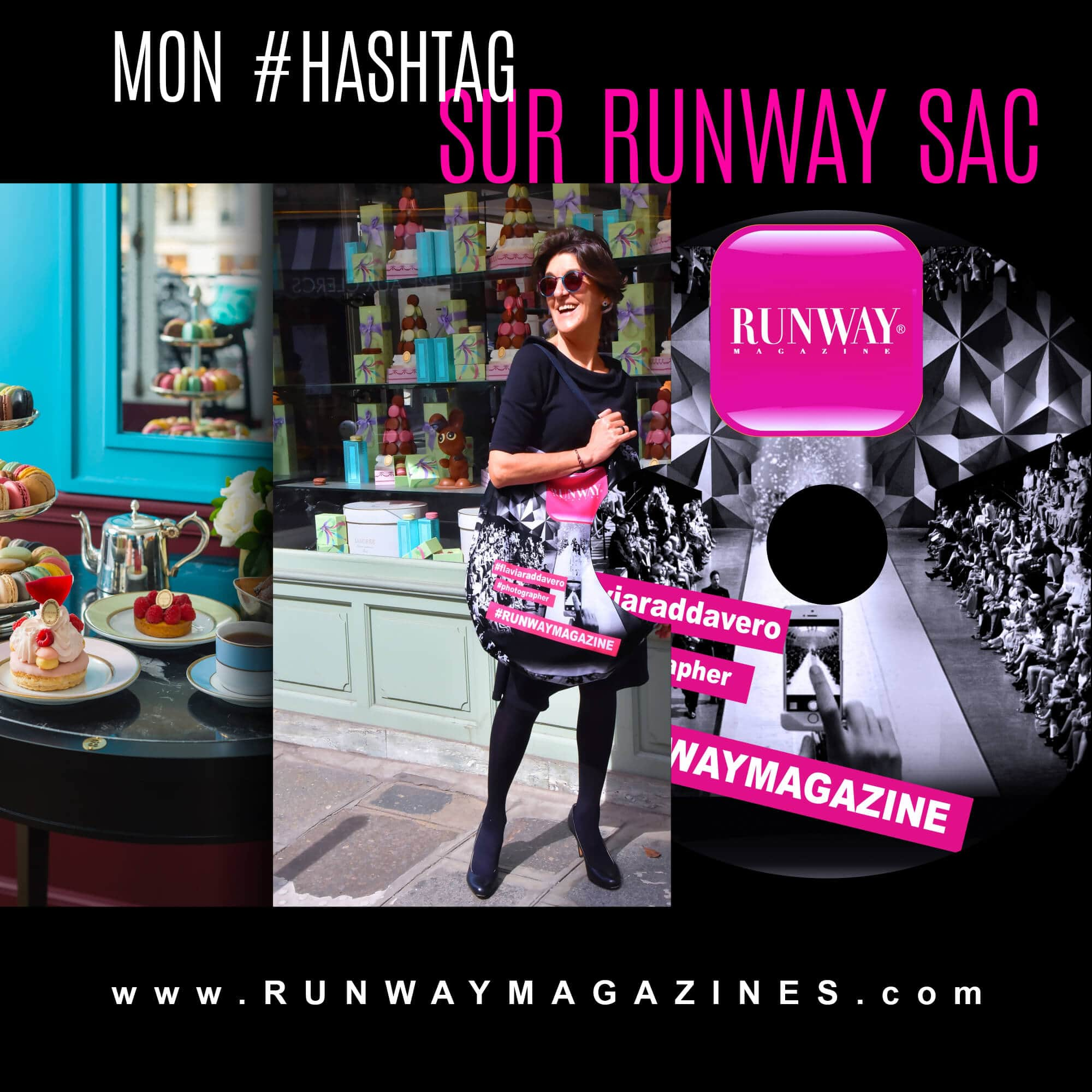 Histoire d'une Photographe de Mode Flavia Raddavero
