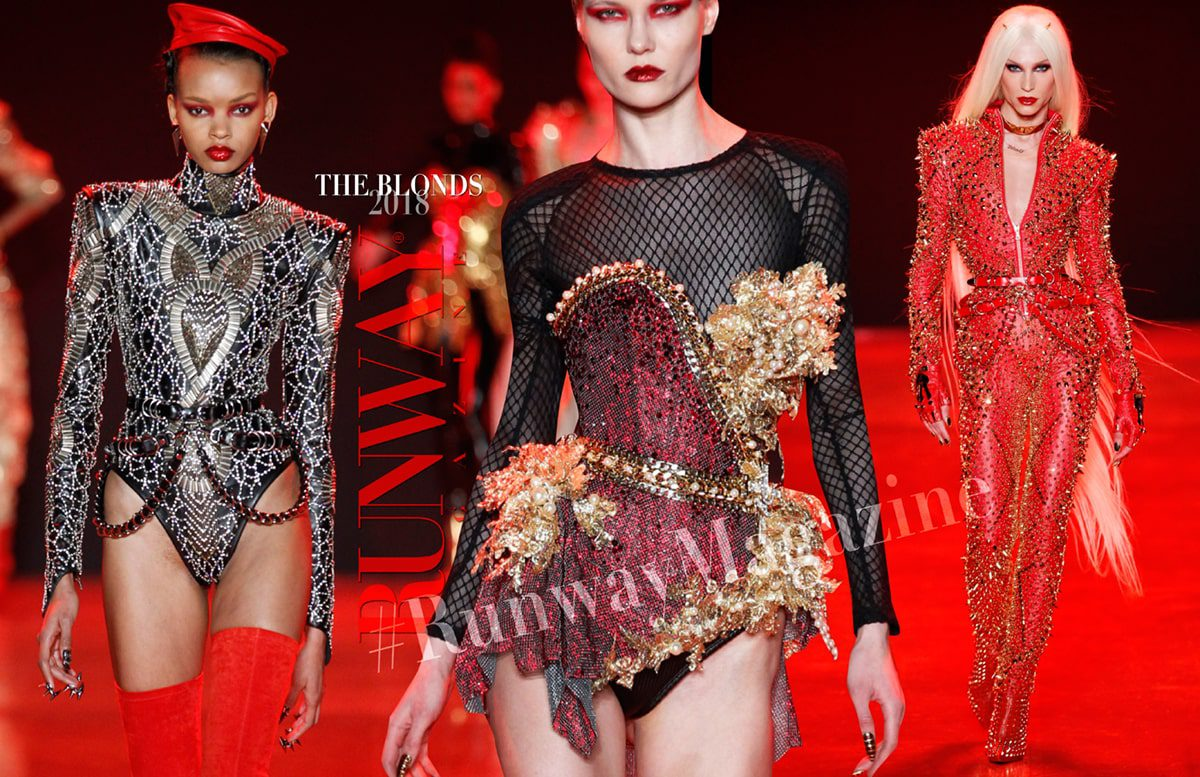 The Blonds Fall-Winter 2018-19 New York Fashion Week by RUNWAY MAGAZINE
