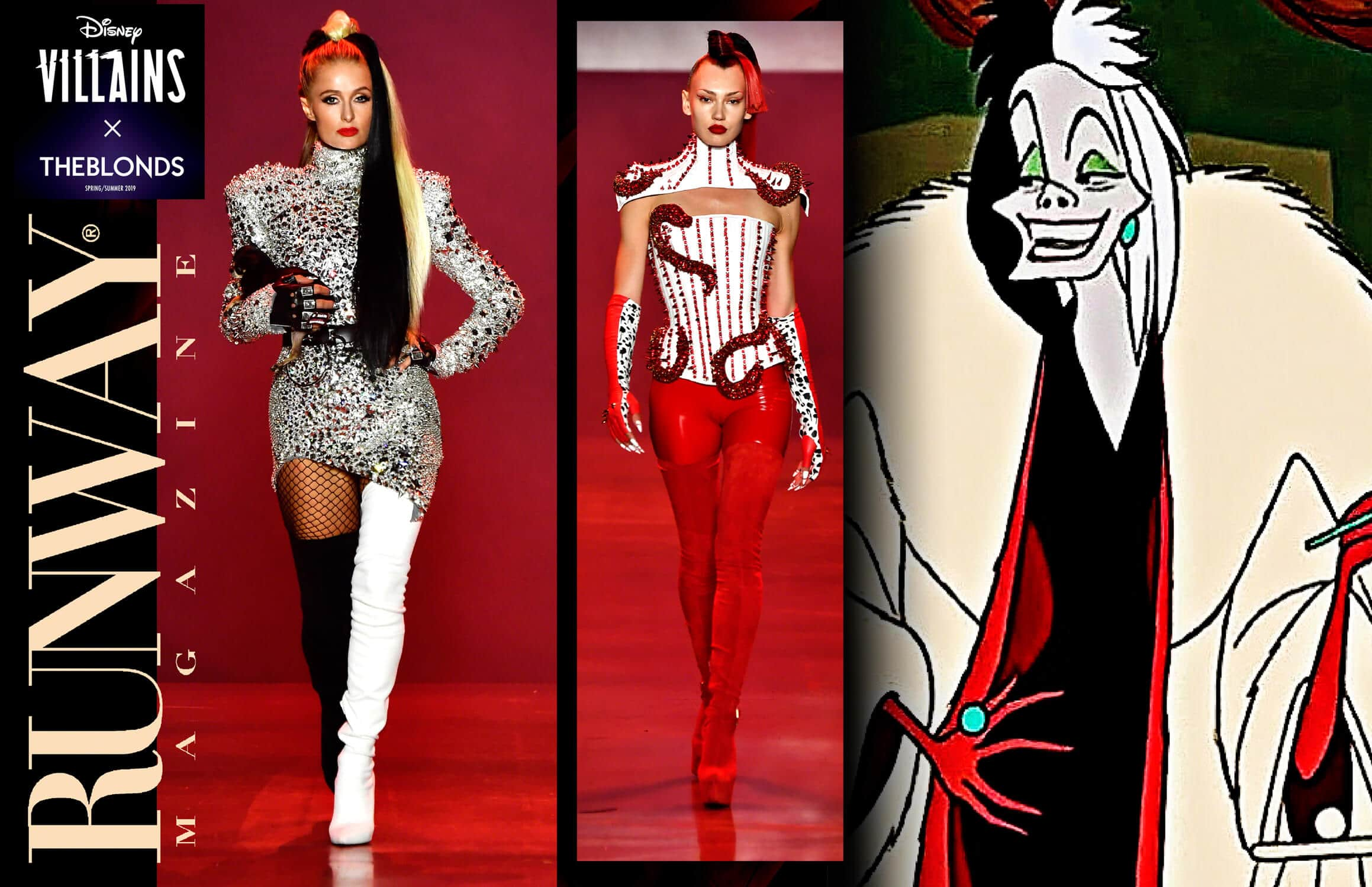 Disney Villains x The Blonds Spring-Summer 2019 New York by RUNWAY MAGAZINE