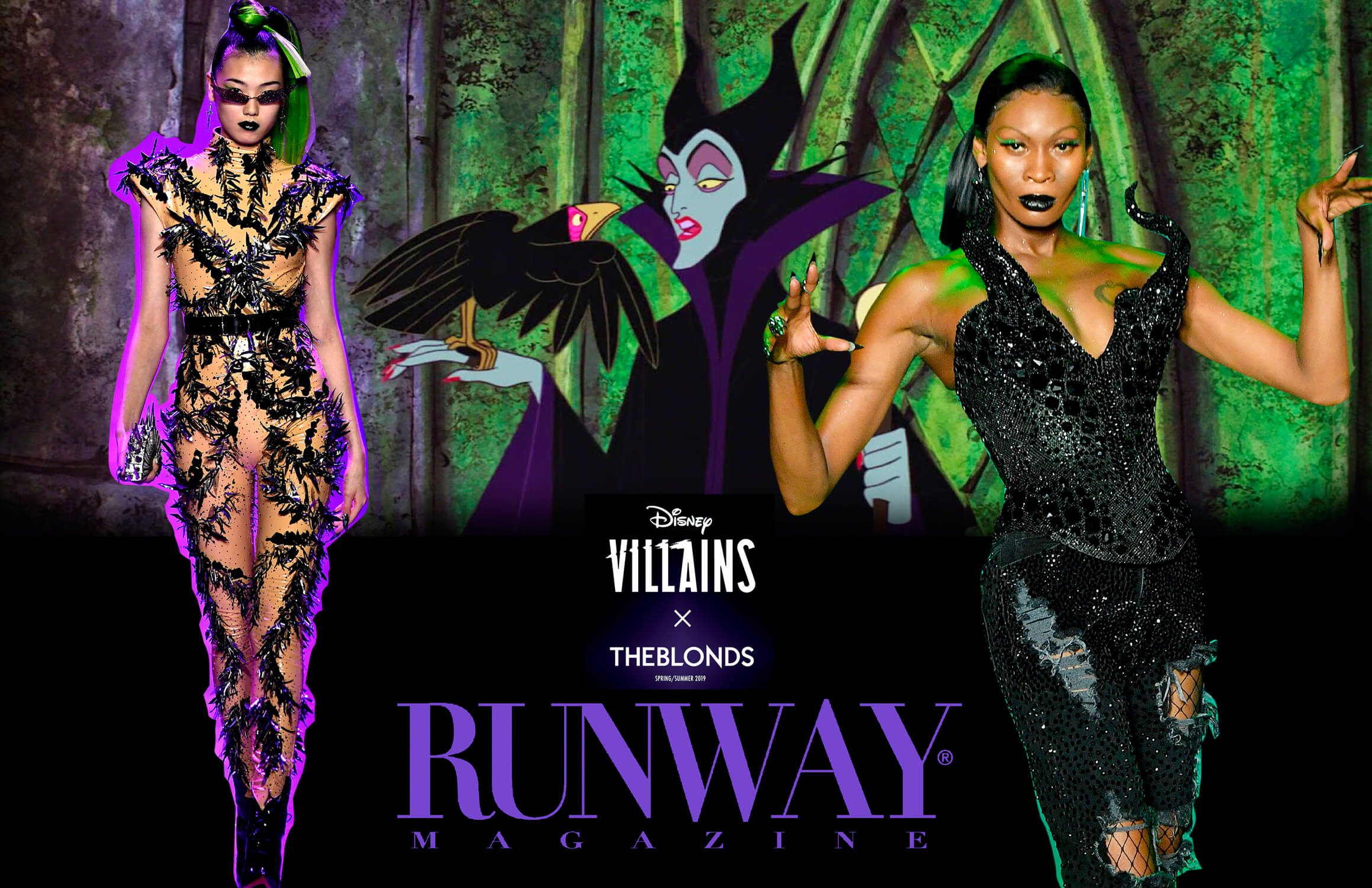 Disney Villains x The Blonds Primavera-Estate 2019 New York di RUNWAY MAGAZINE