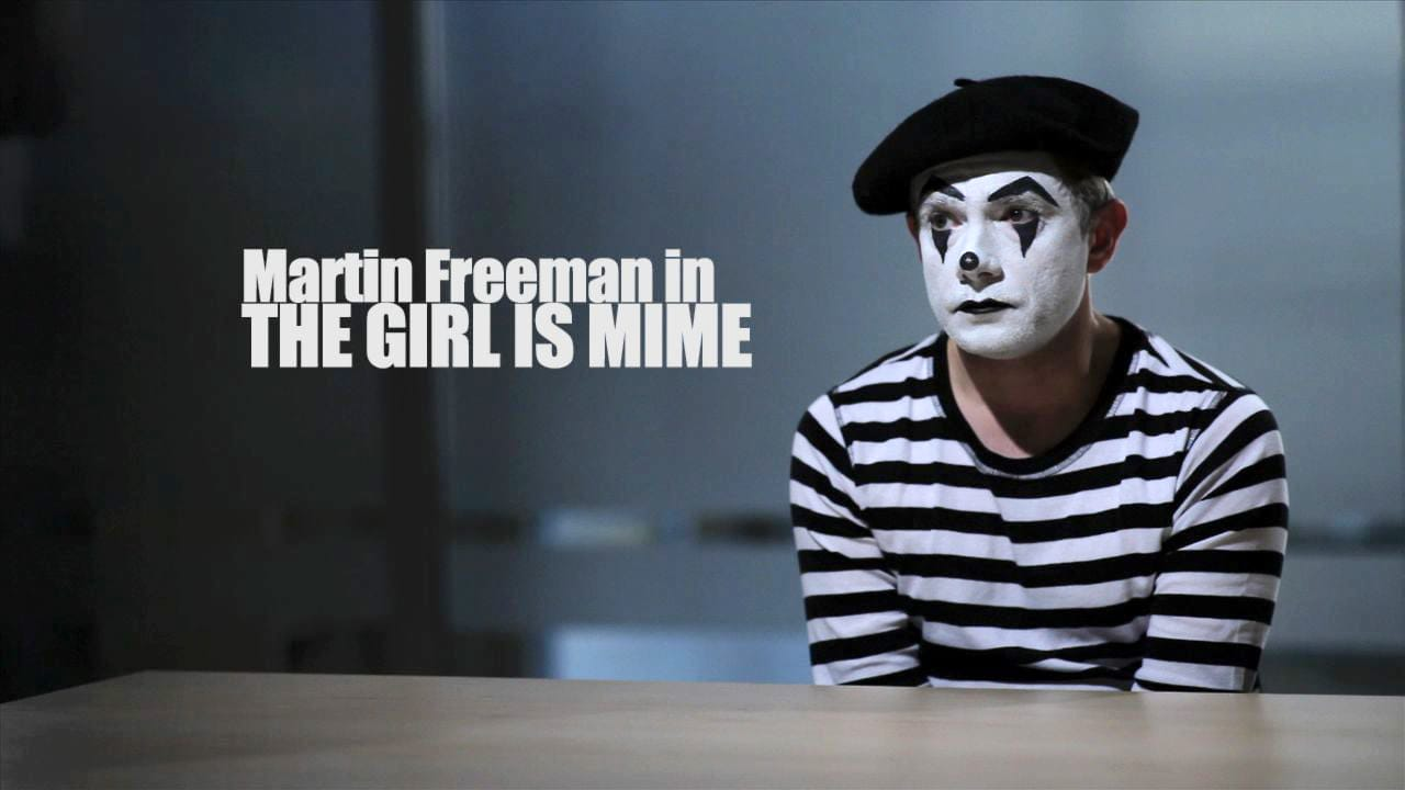 The Girl Is Mime - Starring Martin Freeman by Runway Magazine