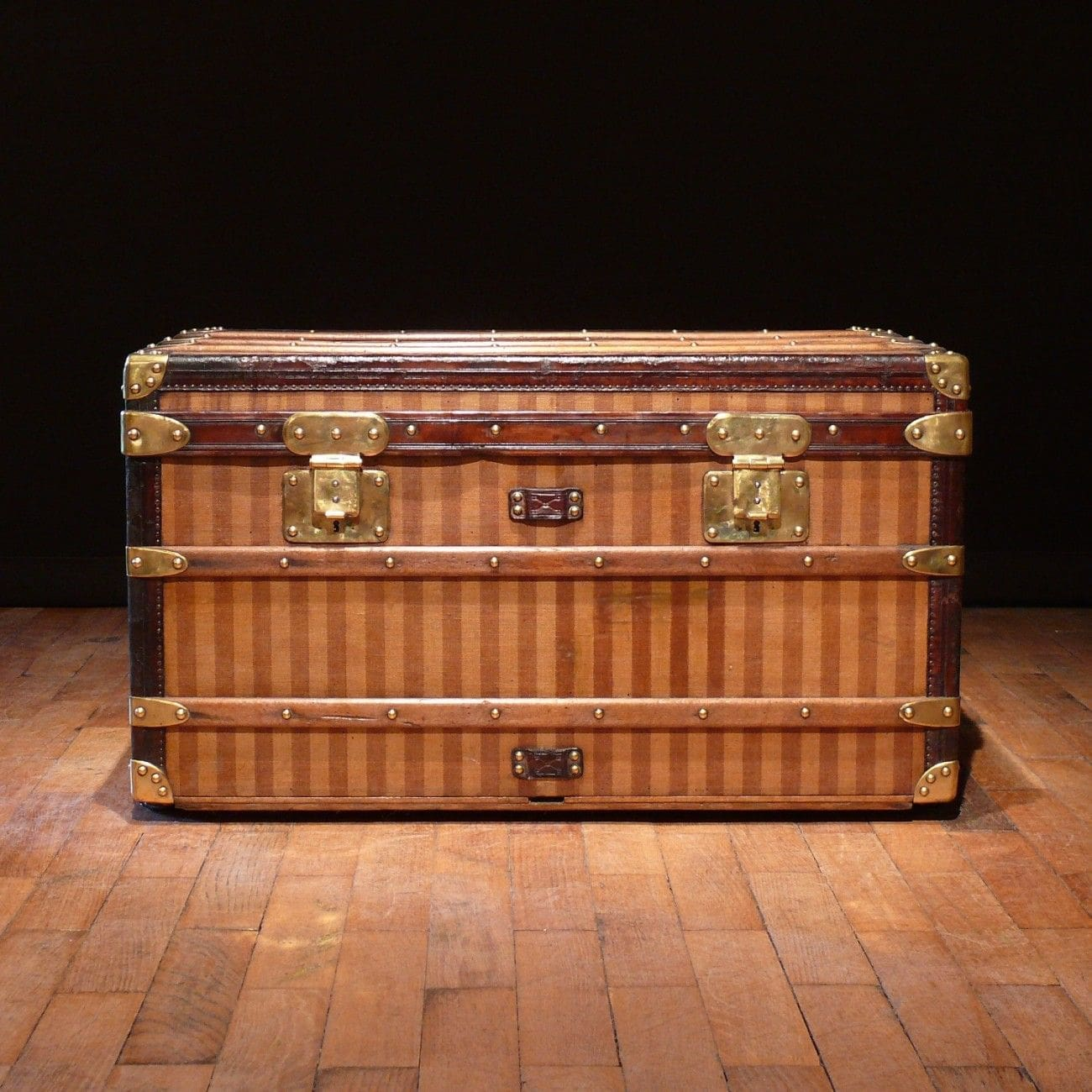 Luis Vuitton the travel trunk 1885 - INPI treasures by RUNWAY MAGAZINE
