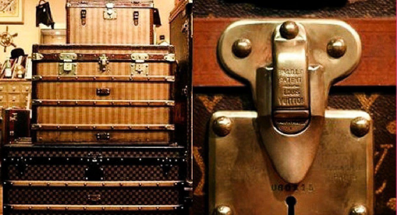Луис Виттон дорожный чемодан 1885 - сокровища INPI by RUNWAY ЖУРНАЛ