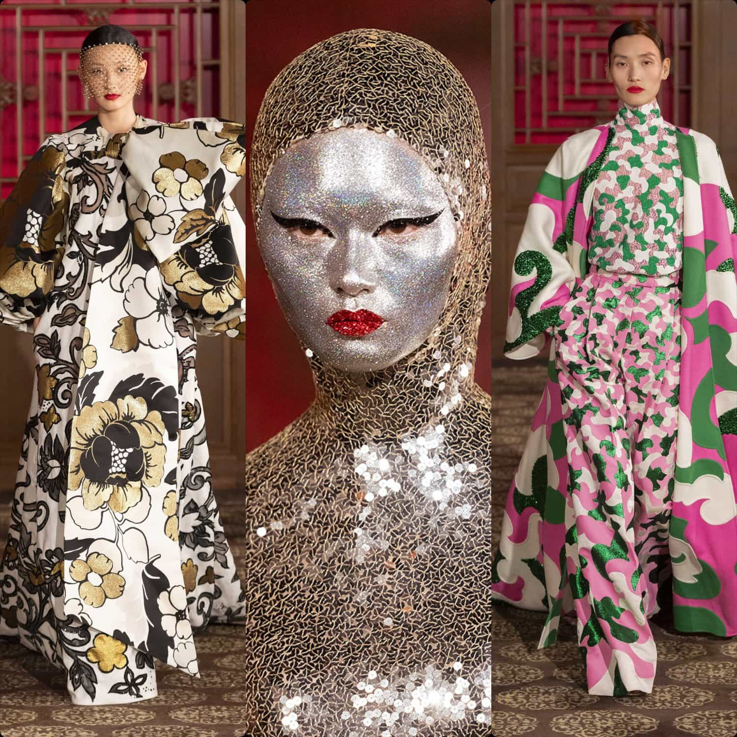 "Valentino Haute Couture Beijing fashion show ""DayDream"", Spring Summer 2020 collection by Pierpaolo Piccioli. RUNWAY MAGAZINE ® Collections"