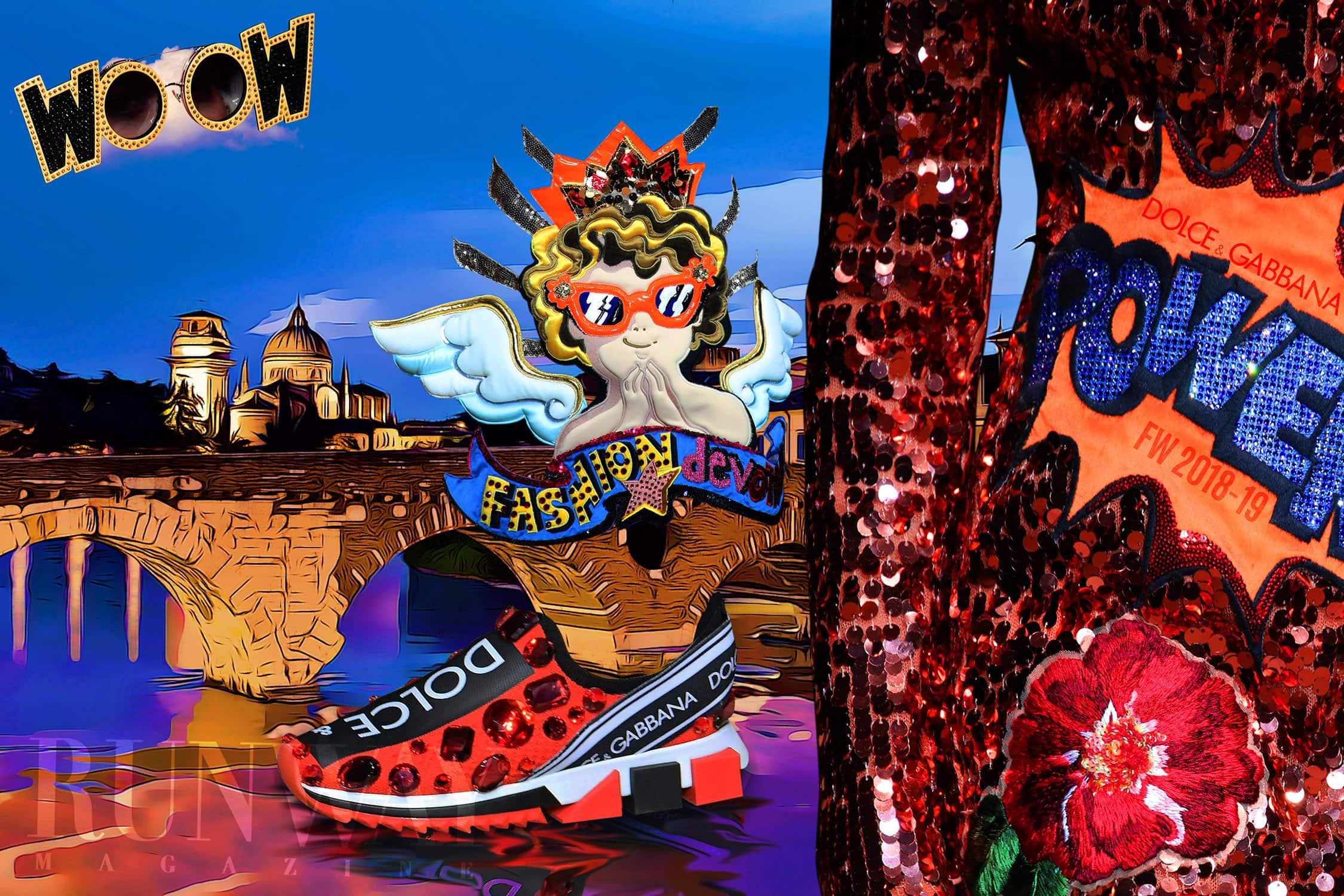 Dolce & Gabbana Fashion Devotion Fall Winter by RUNWAY MAGAZINE