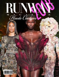 Runway Magazine 2018 Paris Haute Couture Cover