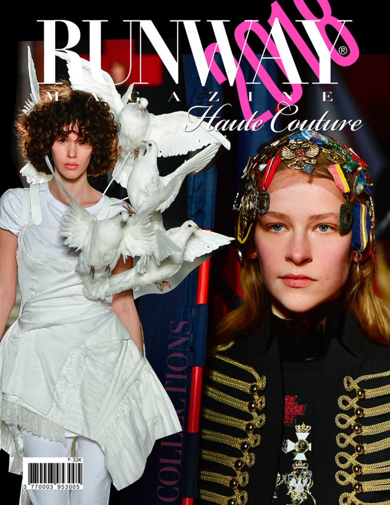 Runway Revista 2018 Paris Haute Couture Cover