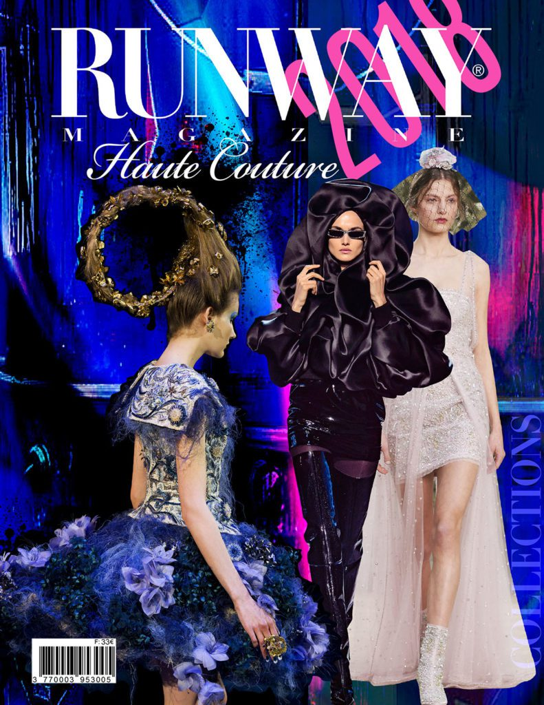 Runway Rivista 2018 Paris Haute Couture Cover