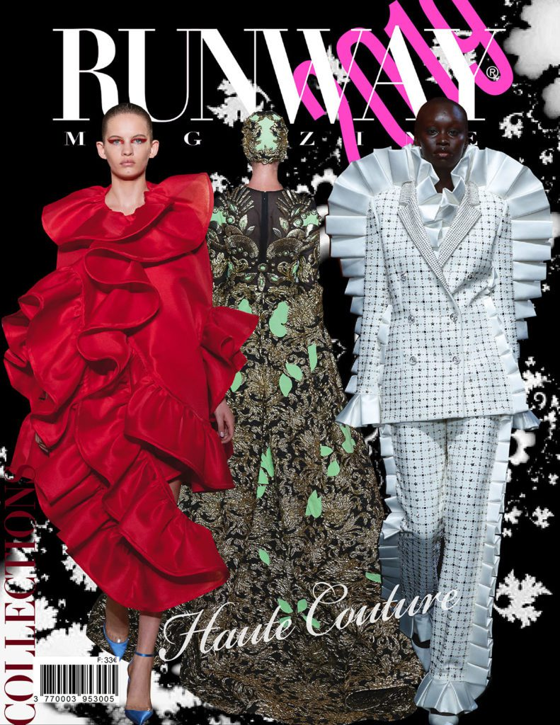 Runway Revista 2019 Paris Haute Couture Cover