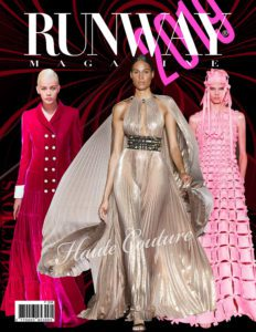Runway Magazine 2019 Paris Haute Couture Cover