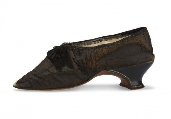 Shoe of Marie Antoinette 1792 Paris Museum of Decorative Arts by RUNWAY MAGAZINE