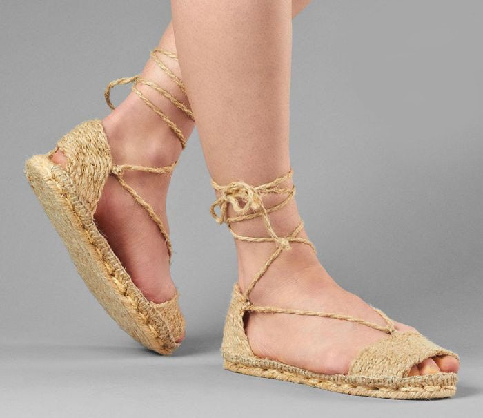 Classic Espadrille - peasant medieval shoes - reproduced by Christian Dior for Spring Summer 2020
