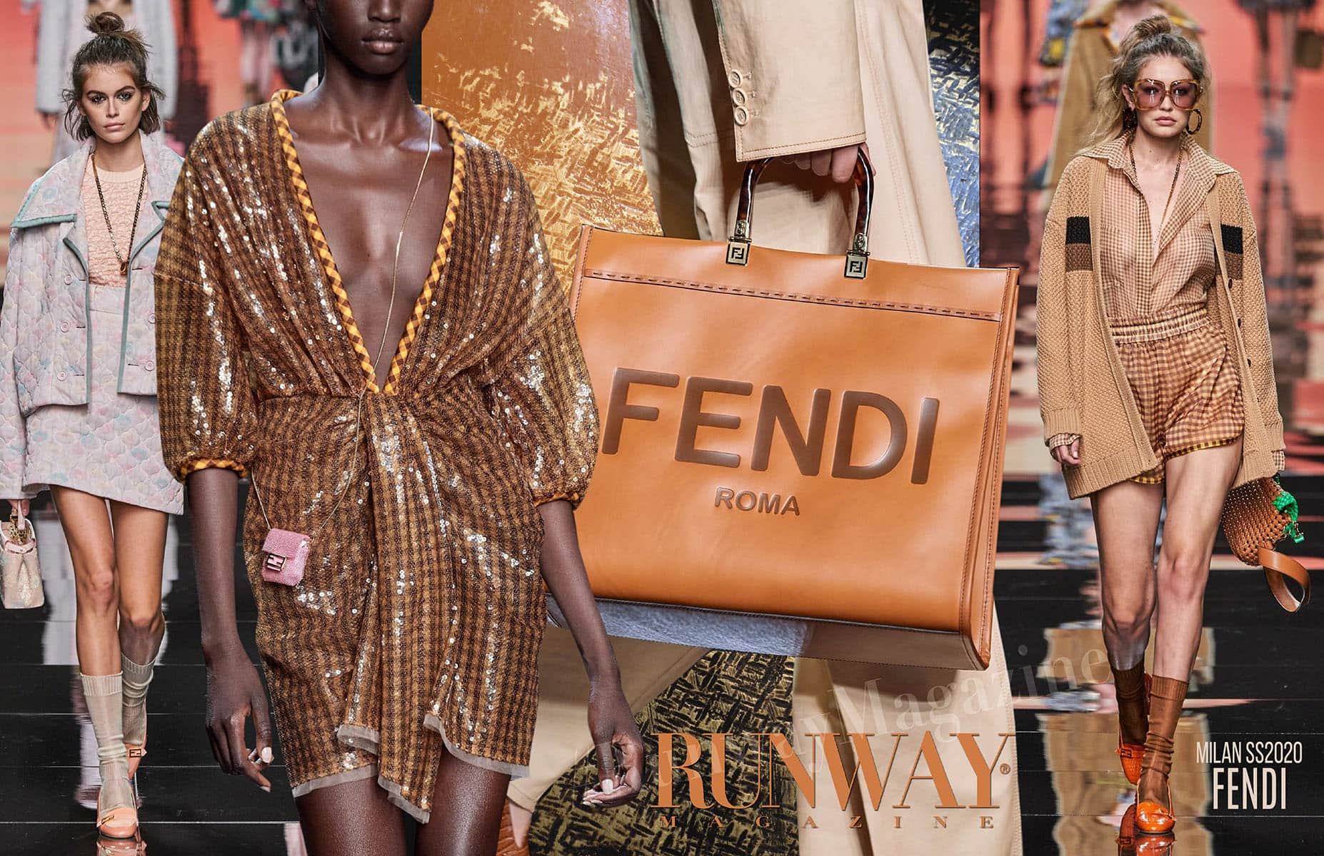 Fendi Spring Summer 2020 Milan by Runway Magazine