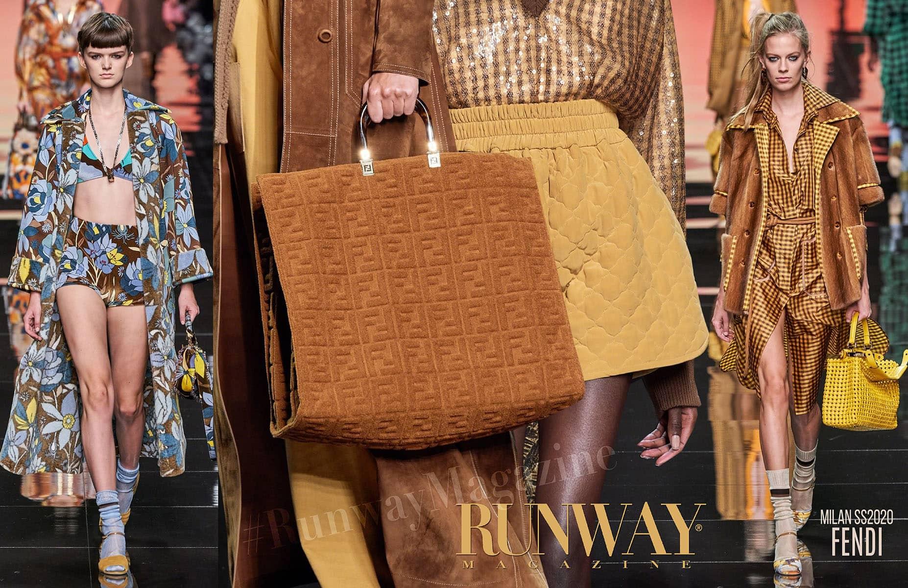 Fendi Spring Summer 2020 Milan by Runway Magazine