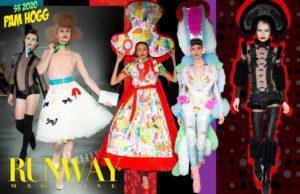 Pam Hogg Primavera Verano 2020 Londres de RUNWAY REVISTA