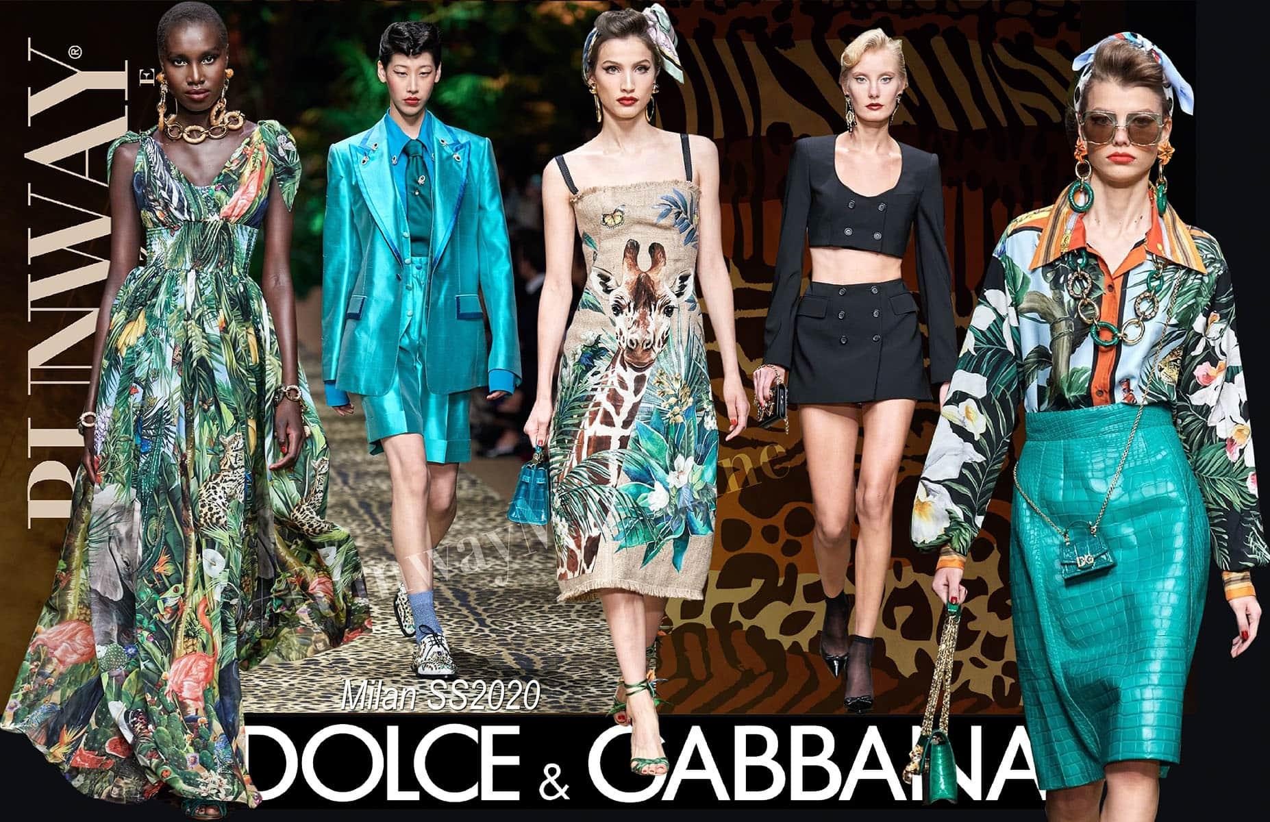 Dolce Gabbana Spring Summer 2020 Milan by Runway Magazine