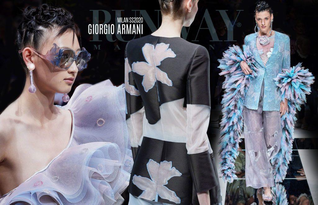 Giorgio Armani Spring Summer 2020 Milan by Runway Magazine