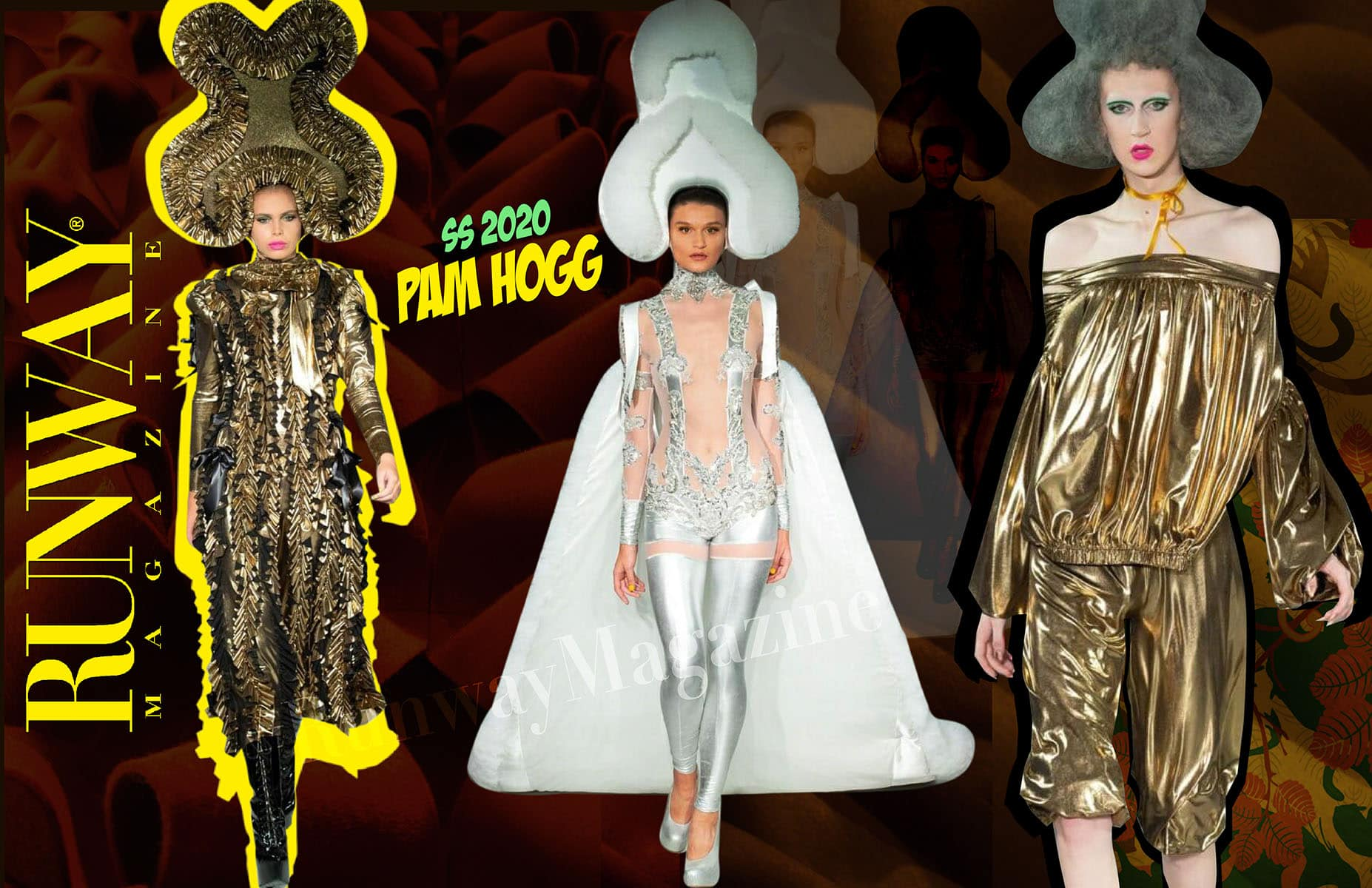 Pam Hogg Spring Summer 2020 London by RUNWAY MAGAZINE