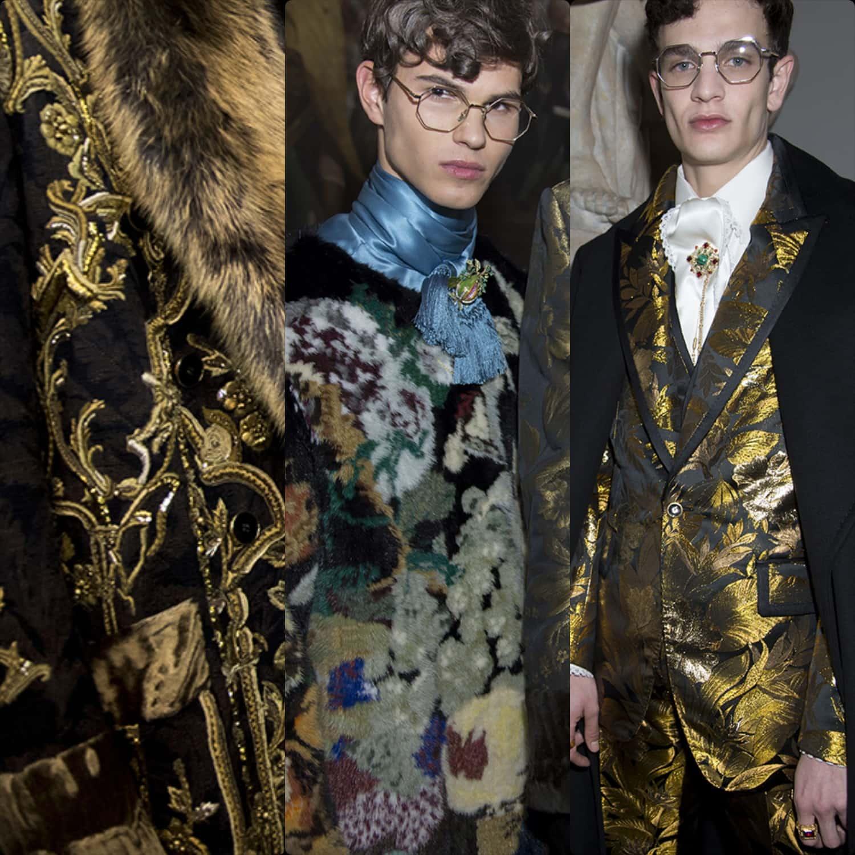 Dolce Gabbana Alta Sartoria 2019 Milan Pinacoteca by RUNWAY MAGAZINE