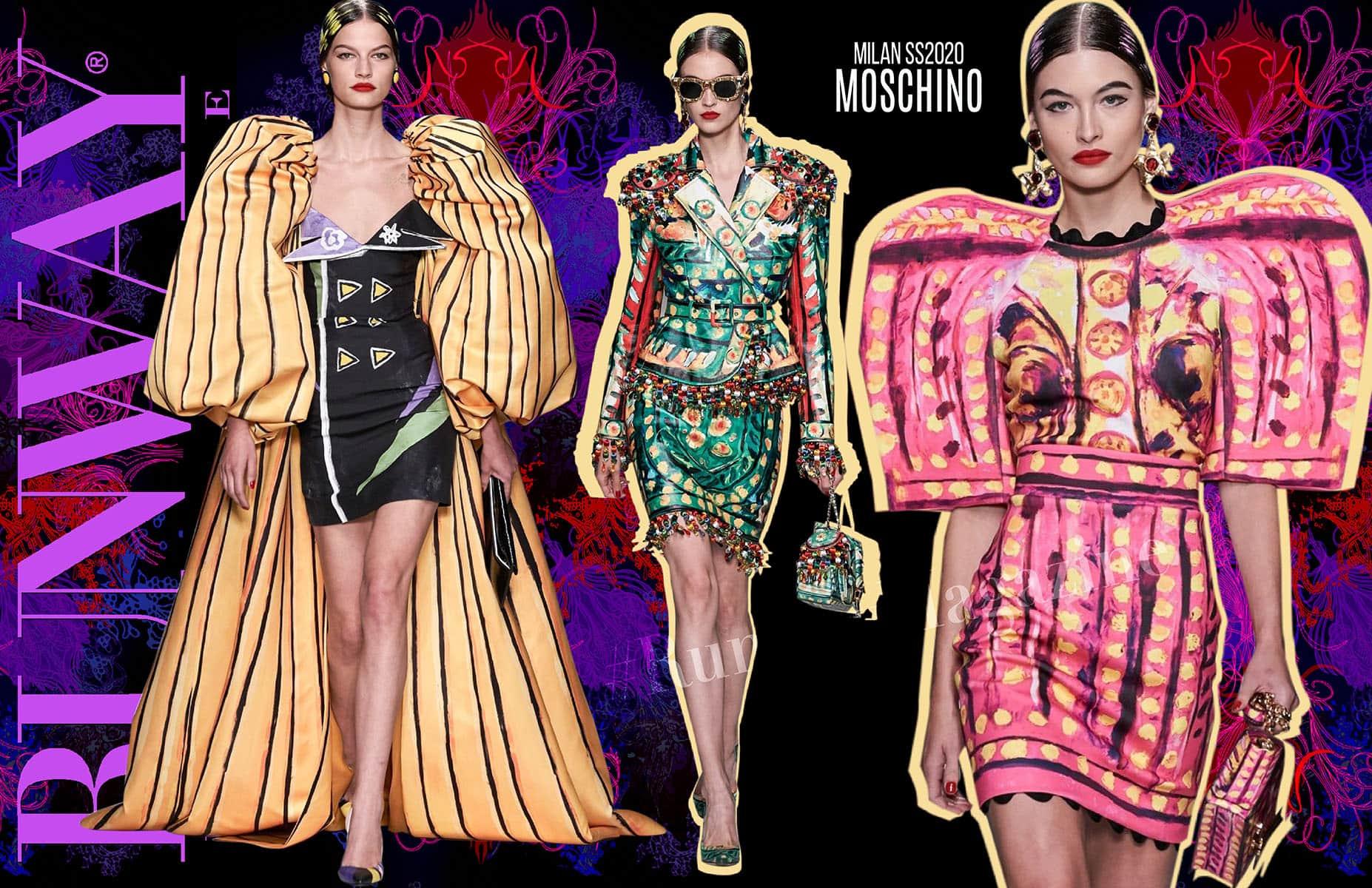 Moschino Spring Summer 2020 Milan by Runway Magazine