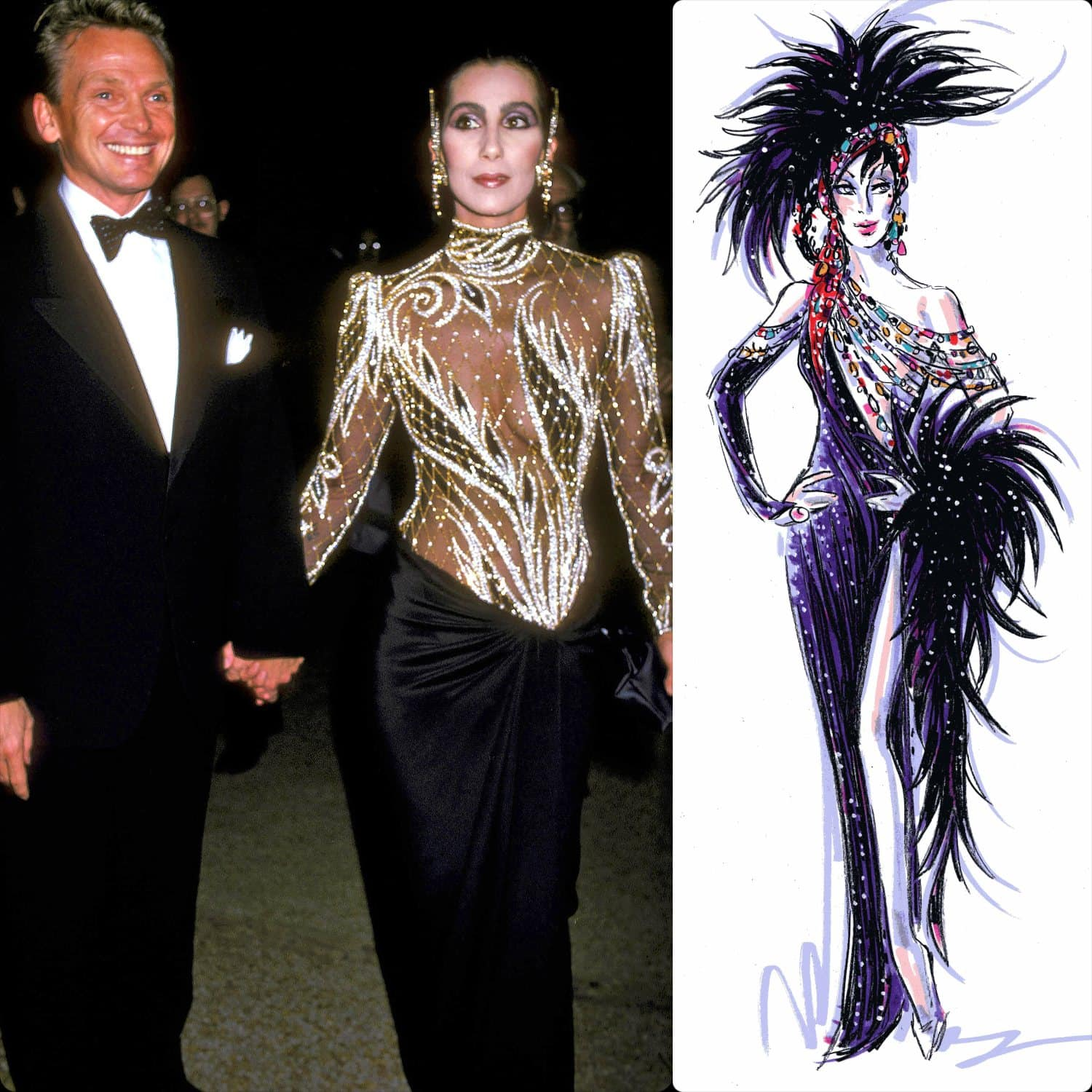 Bob Mackie and Cher - friendship of a lifetime