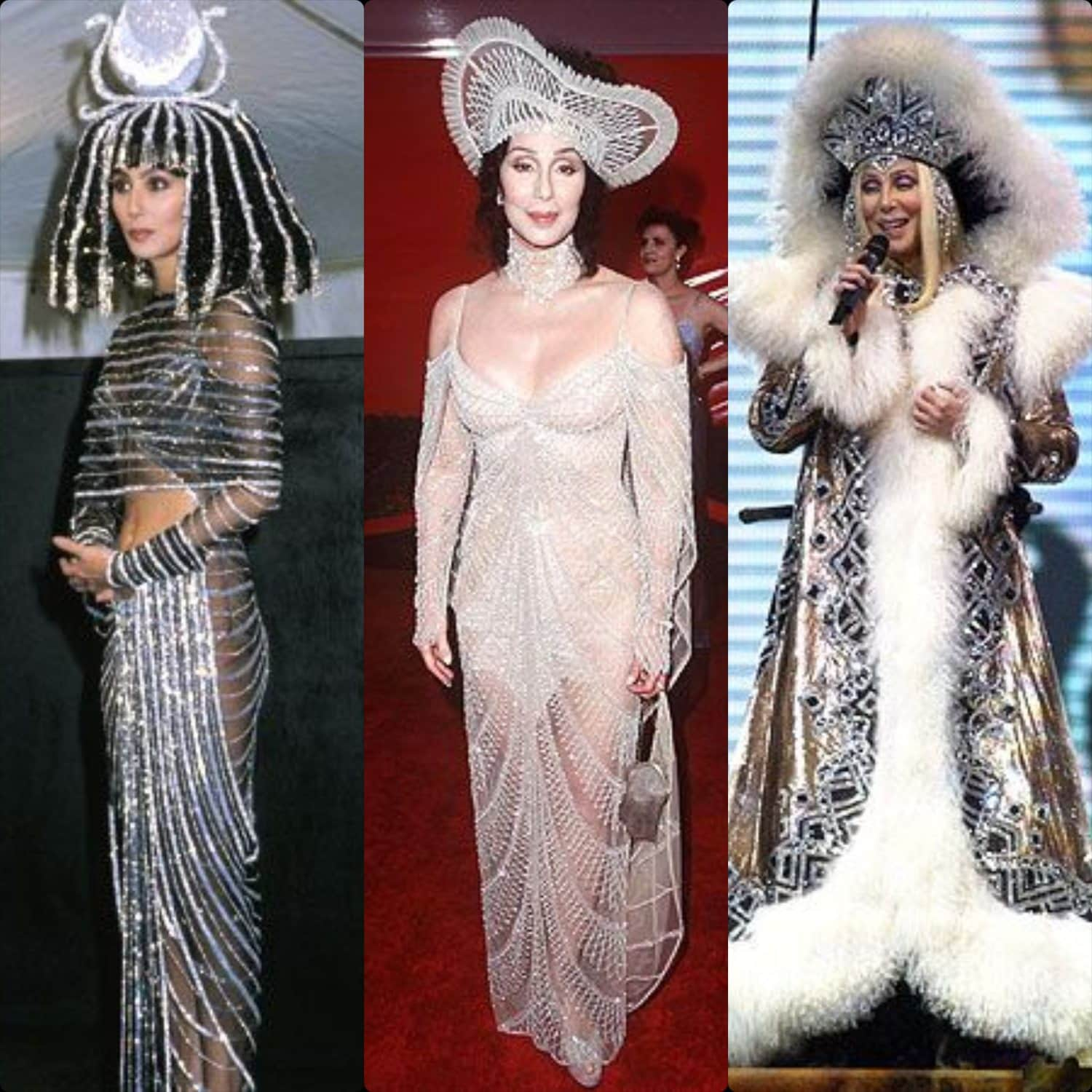 Costumes of Bob Mackie for Cher