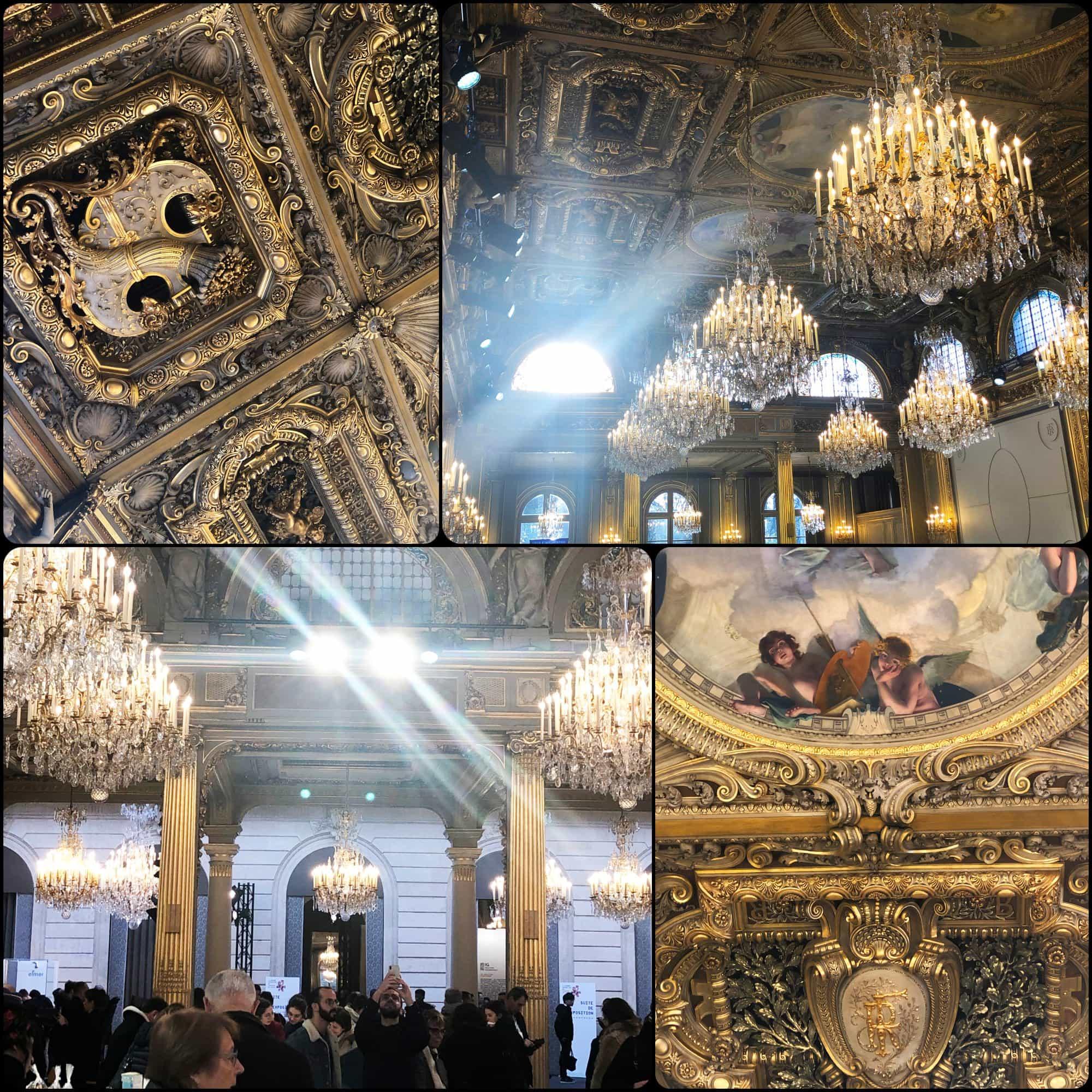 Reception Hall at Elysée. Fabriqué en France à Présidence de la République par RUNWAY MAGAZINE