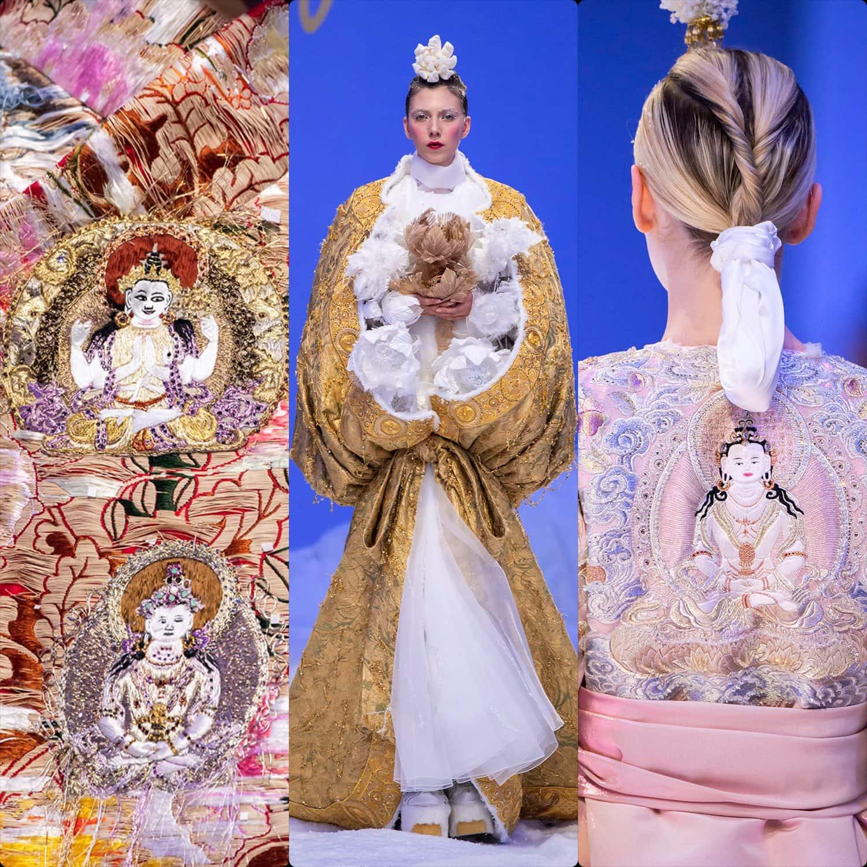 Guo Pei Haute Couture Primavera Verano 2020 Semana de la Moda de París. Reportaje especial de RUNWAY REVISTA