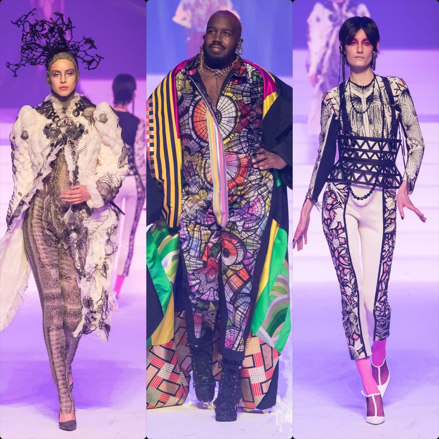 Jean Paul Gaultier Haute Couture Spring Summer 2020 Last Show by RUNWAY MAGAZINE