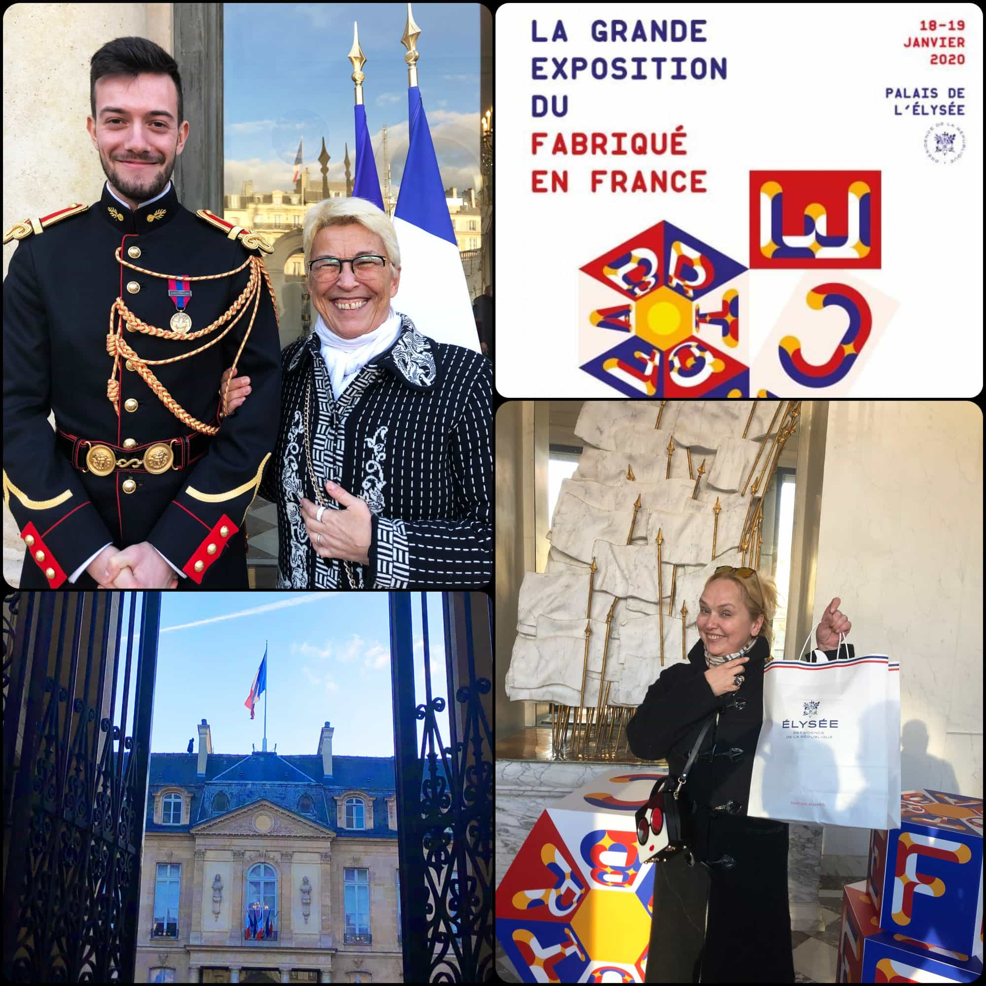 Eleonora de Gray and Guillaumette Duplaix - RUNWAY MAGAZINE.   Fabriqué en France à Présidence de la République par RUNWAY MAGAZINE