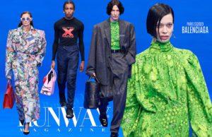 Balenciaga Primavera Verão 2020 Paris por RUNWAY MAGAZINE