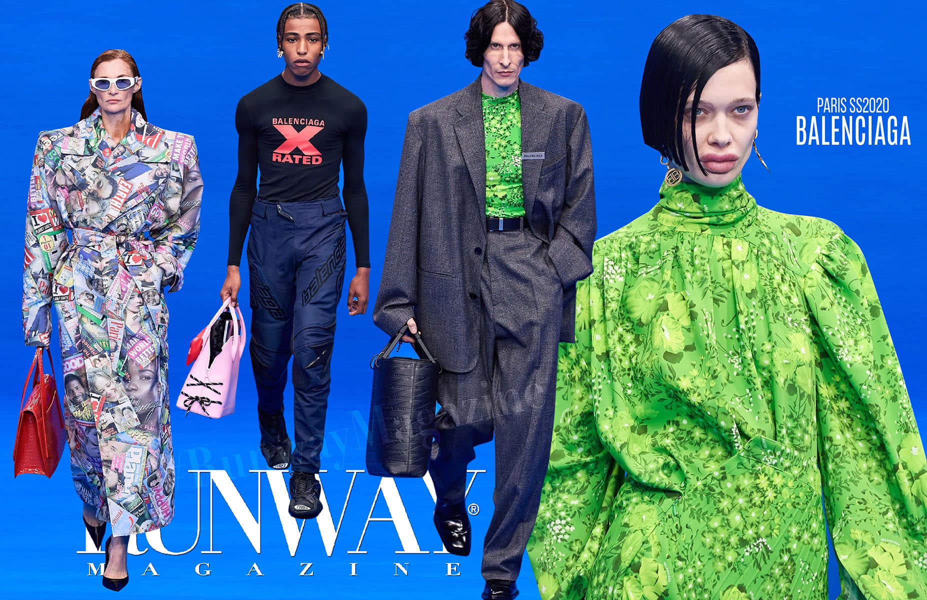 Balenciaga Spring Summer 2020 Paris by RUNWAY MAGAZINE