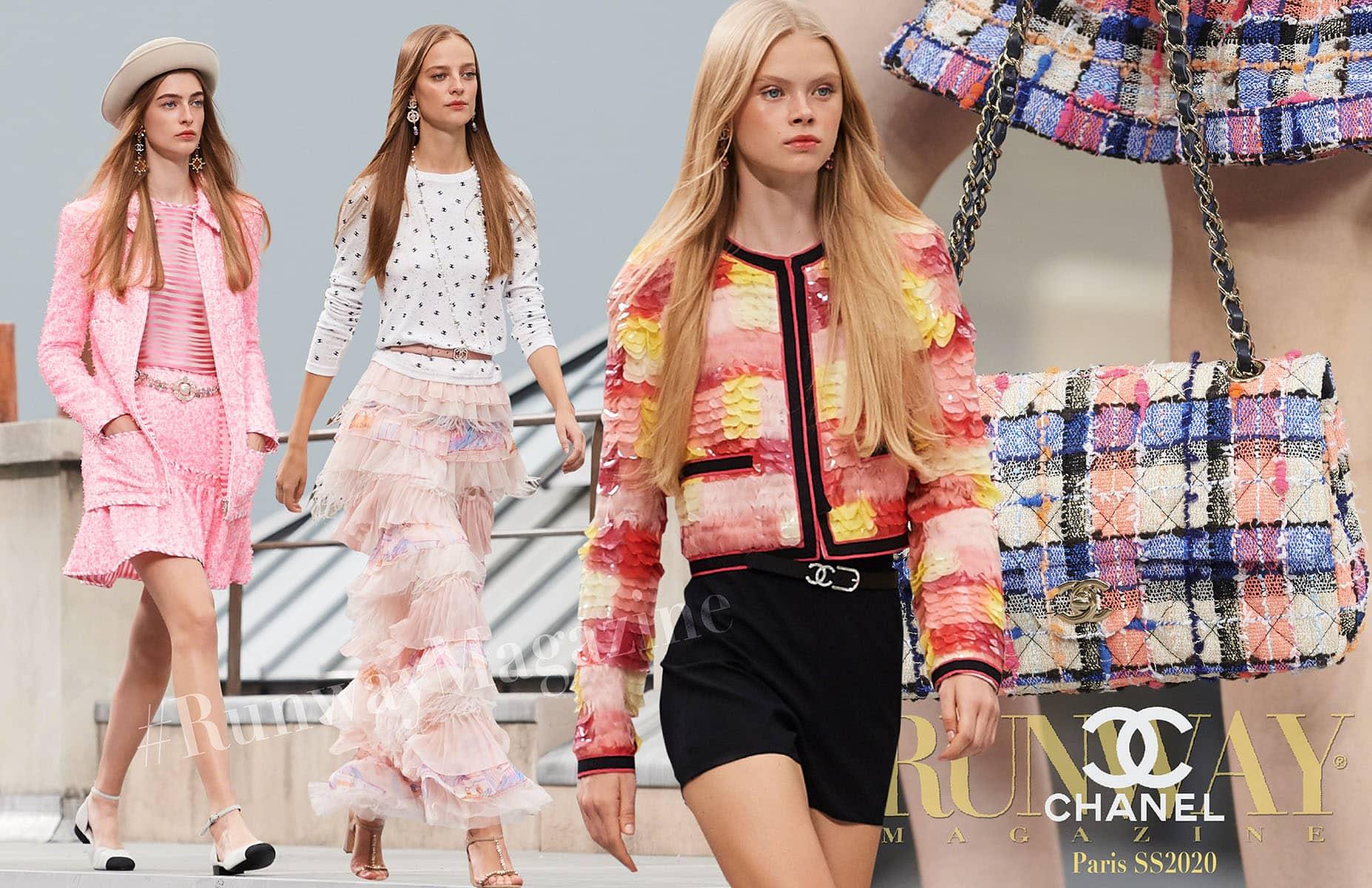 Chanel Spring Summer 2020 Paris by RUNWAY MAGAZINE