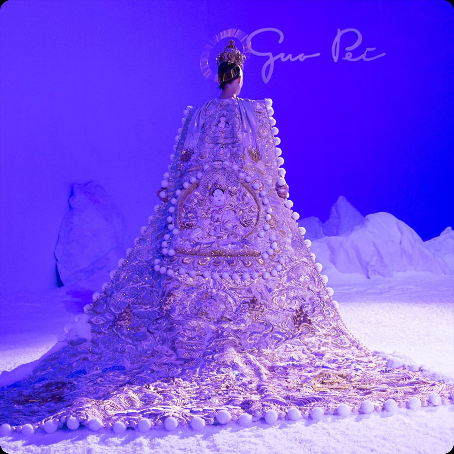 Guo Pei Haute Couture Spring Summer 2020 Paris Fashion Week. Special reportage by RUNWAY MAGAZINE