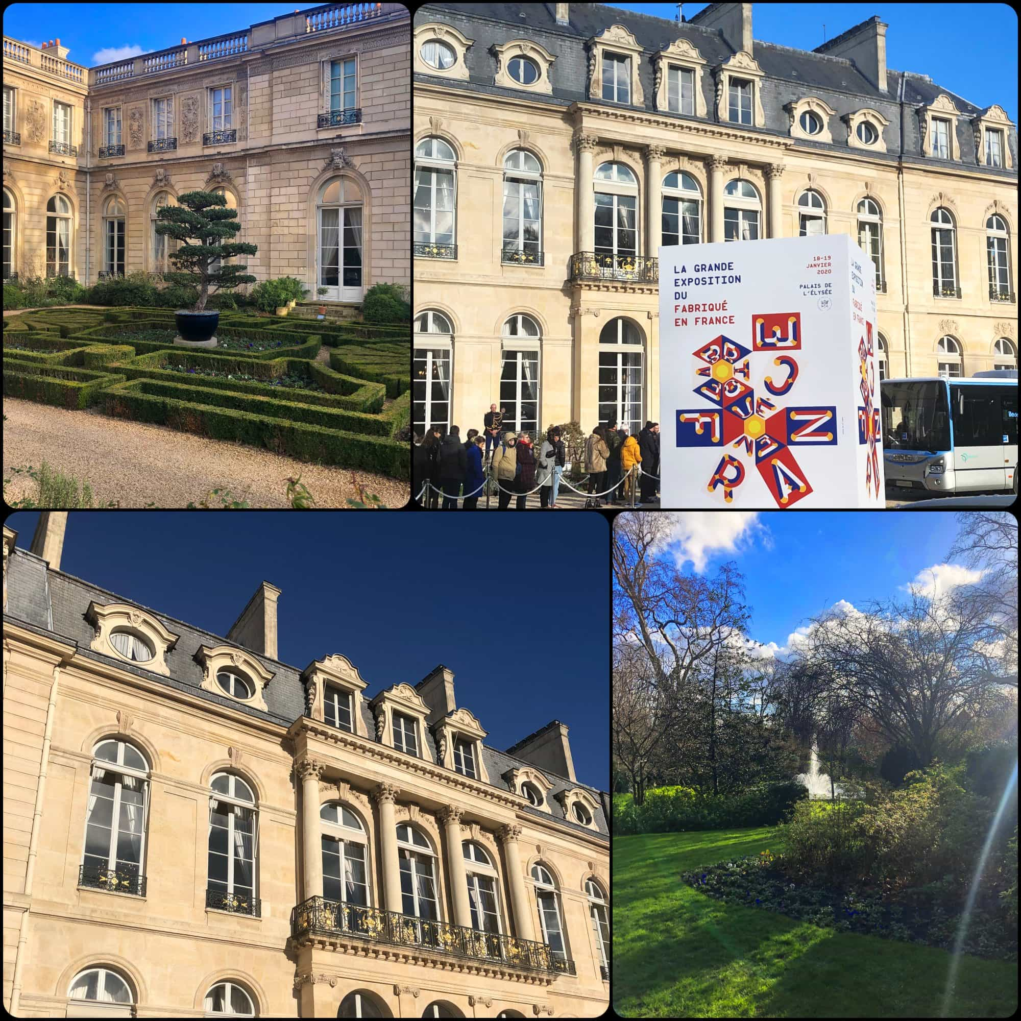 Famous Elysée Garden. Fabriqué en France à Présidence de la République par RUNWAY MAGAZINE