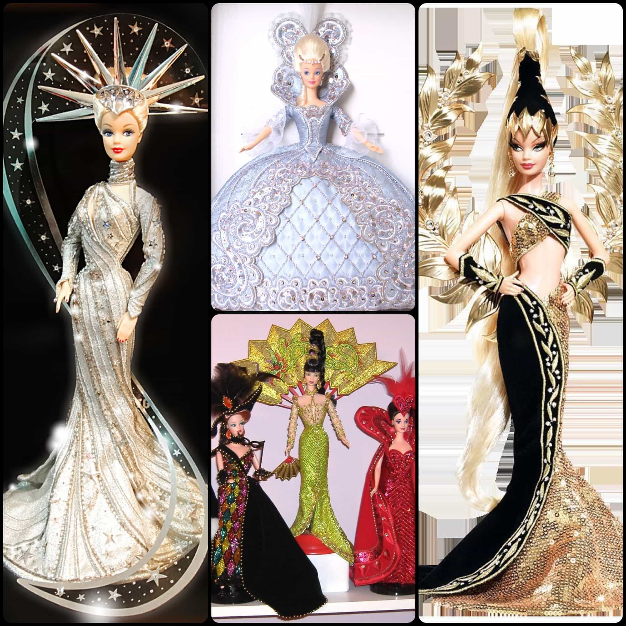 Bob Mackie Barbie Dolls collection - Lady Liberty, Golden Legacy 1997-2009