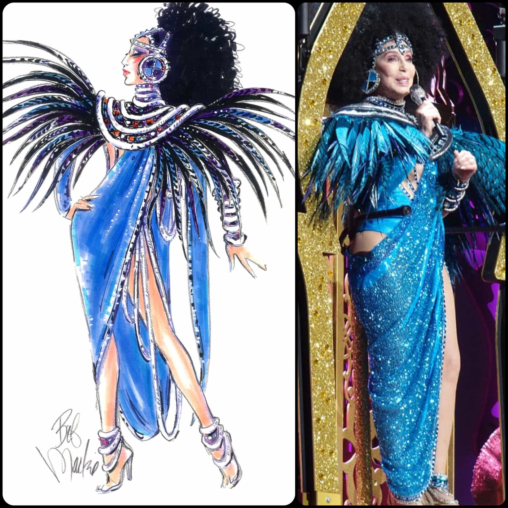 Bob Mackie for Cher