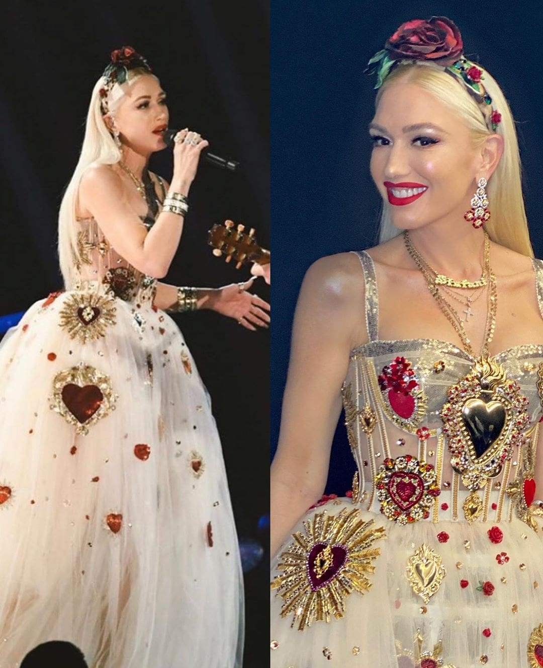 Dolce Gabbana for Gwen Stefani BY RUNWAY MAGAZINE