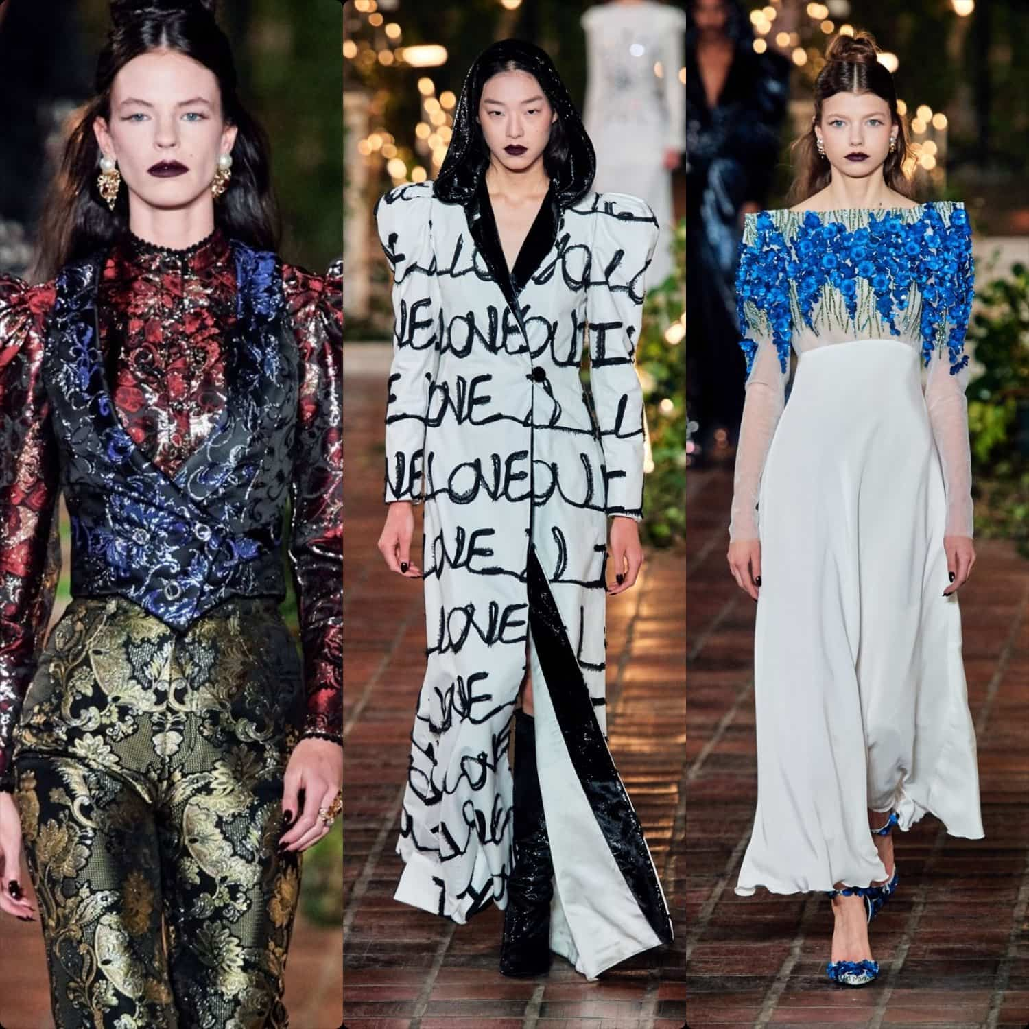 Rodarte Fall-Winter 2020-2021 New York by RUNWAY MAGAZINE