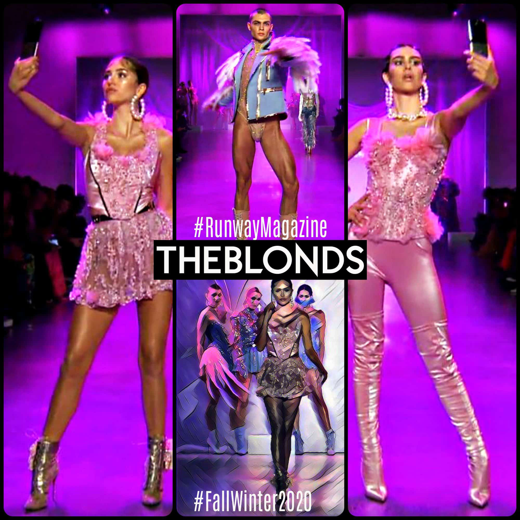 The Blonds Fall-Winter 2020-2021 New York by RUNWAY MAGAZINE