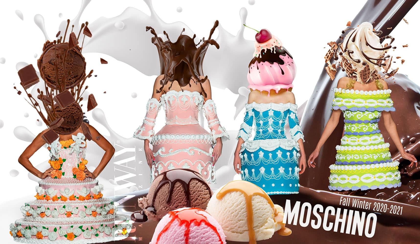 Moschino Fall-Winter 2020-2021 by RUNWAY MAGAZINE