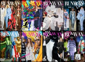 Runway Magazine Issues, Runway Magazine Covers