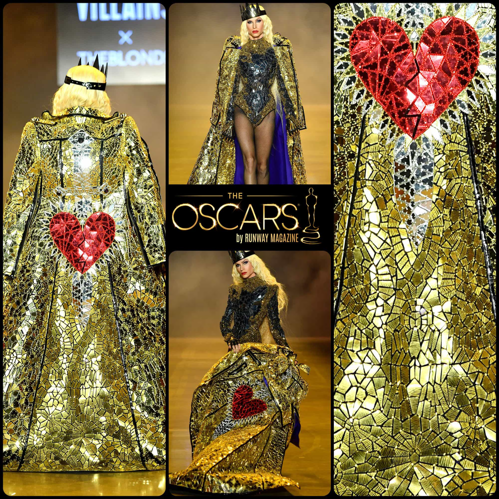 Oscars 2020 Billy Porter coat by THE BLONDS SS 2019 Disney Villains collection - RUNWAY MAGAZINE