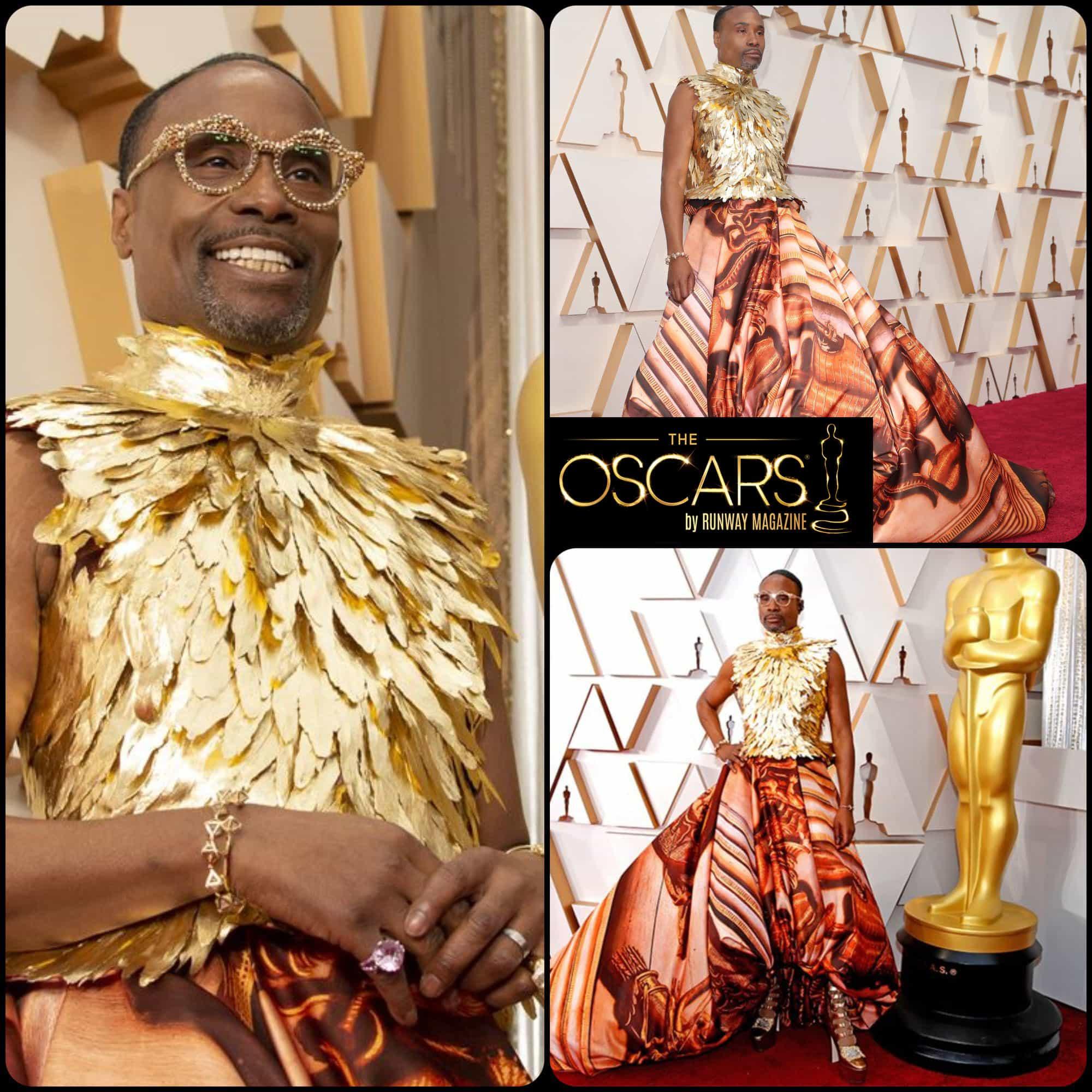 Oscars 2020 Billy Porter red carpet by RUNWAY MAGAZINE