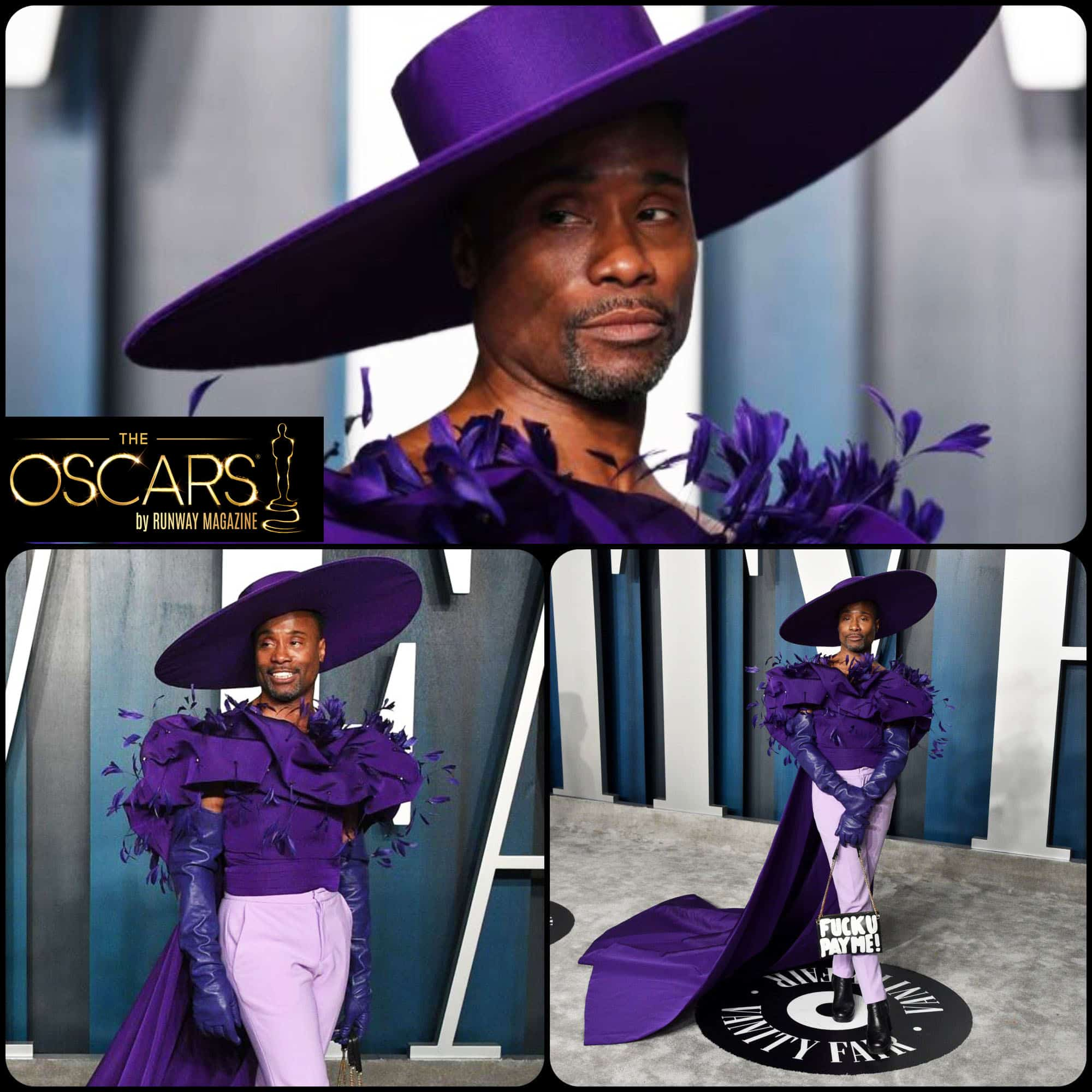 Vanity Fair Oscars 2020 party Billy Porter outfit by RUNWAY MAGAZINE