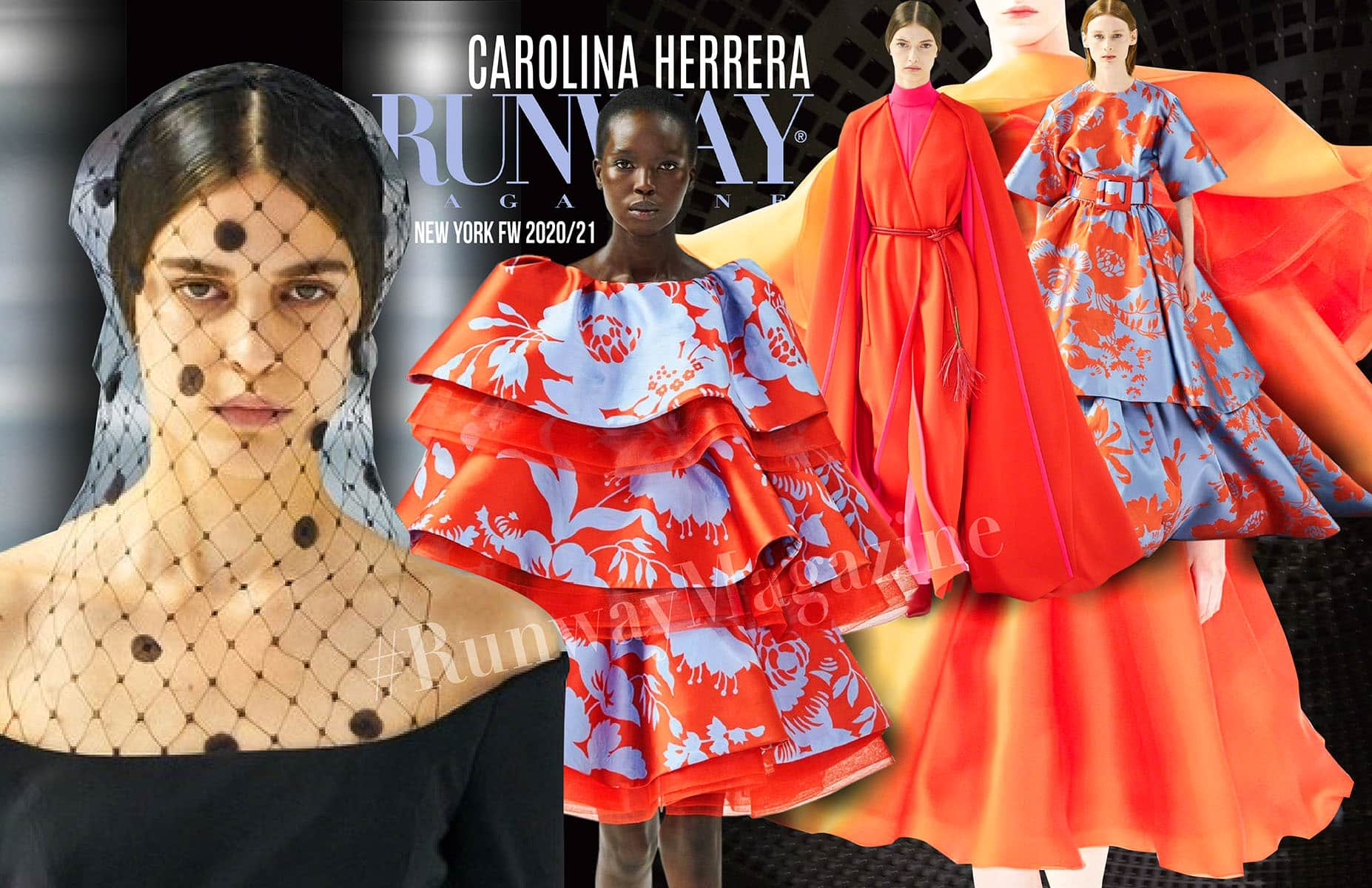Carolina Herrera Fall-Winter 2020-2021 New York by RUNWAY MAGAZINE